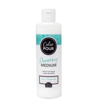 American Crafts Color Pour 8 fl. oz. Pouring Medium-Clear