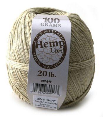 Hemp Cord 20lb 400'-Natural