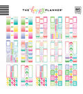 The Happy Planner Value Pack Stickers-Productivity