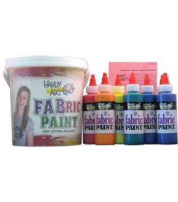 Handy Art Fabric Paint Kit