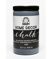 Folkart Home Decor Chalk 32oz-Rich Black, , hi-res