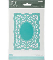 Kaisercraft Decorative Die-Rectangle Doily, , hi-res