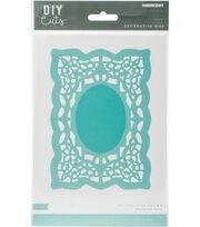 Kaisercraft DIY Cuts 4''x5.75'' Decorative Die-Rectangle Doily, , hi-res