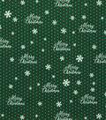 Christmas Cotton Fabric -Merry Christmas