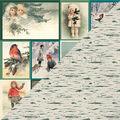 Authentique Paper Solitude 18 pk 12\u0027\u0027x12\u0027\u0027 Cardstock 8-Vintage Images