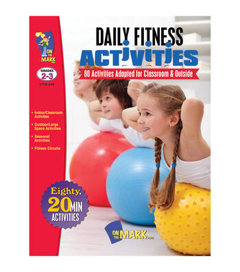 On The Mark Press Daily Fitness Activities Grade 2-3