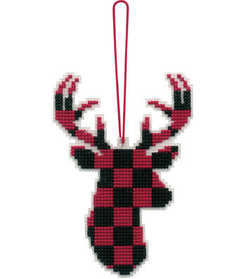 Stitch Kit Ornament-Deer