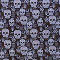 Halloween Cotton Fabric-Mystical Sugar Skulls