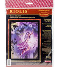 RIOLIS Combopu Cama 11.75\u0027\u0027x15.75\u0027\u0027 Stamped Cross Stitch Kit-Fairy