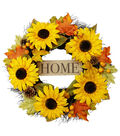 Blooming Autumn 22\u0027\u0027 Sunflower Wreath-Home