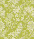 Home Decor 8\u0022x8\u0022 Fabric Swatch-Waverly Garden Flurry Honeydew