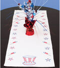 Jack Dempsey Stamped Table Runner/Scarf Independence Day