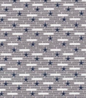 Dallas Cowboys Cotton Fabric -Mini Print