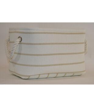 Medium Fabric Bin-Stripe