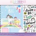 American Crafts Hello Dreamer Journal Kit