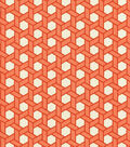 Home Decor 8\u0022x8\u0022 Swatch Fabric-Waverly SNS Shoji Tiger Lily