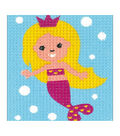 Vervaco/Kits 4 Kids Embroidery Kit 6.5\u0022X5\u0022-Mermaid