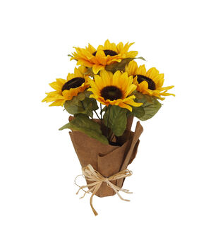 Blooming Autumn Sunflower Arrangement-Yellow