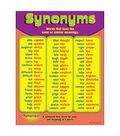 Synonyms Learning Chart 17\u0022x22\u0022 6pk