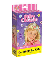 Creativity for Kids Fairy Crowns Mini Craft Kit, , hi-res