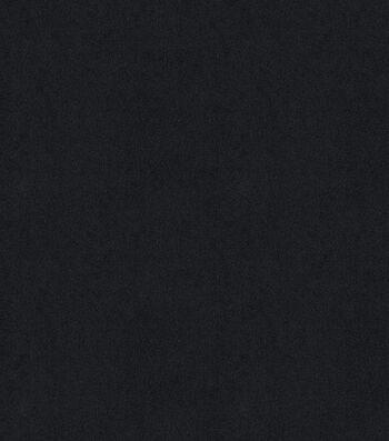 """Signature Series Multi-Purpose Faux Suede Decor Fabric 58""""-Black"""