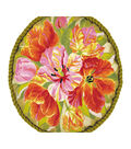 RIOLIS Cushion Counted Cross Stitch Kit 17.75\u0022X17.75\u0022-Tulips Cushion