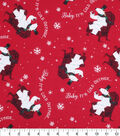 Holiday Cotton Fabric -Baby Its Cold Out Polar Bear