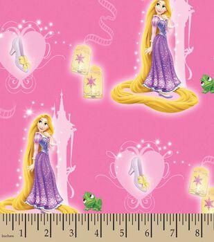 Disney  Princess Print Fabric- Rapunzel And Slipper
