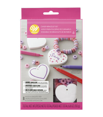 Wilton Valentine's Day 8ct Candy Bracelet