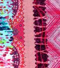 Mini Charm Cotton Fabric Pack 2.5\u0027\u0027x2.5\u0027\u0027-Pink