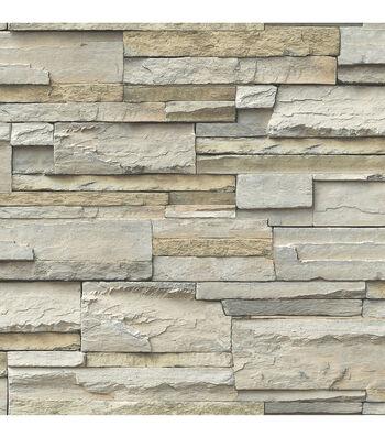 WallPops NuWallpaper Peel & Stick Wallpaper-Slate