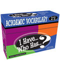 Teacher Created Resources I Have, Who Has Vocabulary Game, Grade 4-5