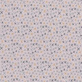 Premium Quilt Cotton Fabric-X Mark the Spot on Gray