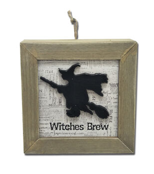 Maker's Halloween Wall Decor-Witches Brew