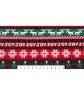 Maker\u0027s Holiday Fleece Fabric 59\u0022-Striped