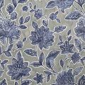 Stretch Chiffon Fabric 57\u0027\u0027-Boho Floral on Gray