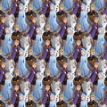 Disney Frozen 2 Cotton Fabric-Digital Packed