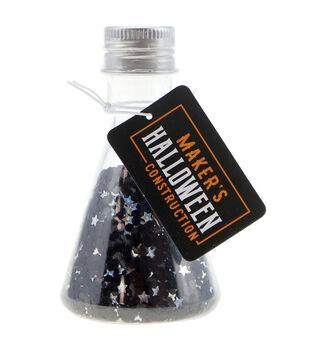 Maker's Halloween Beaker Glitter Shapes-Mystic Spell