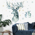 York Wallcoverings Wall Decals-Watercolor Winter Deer