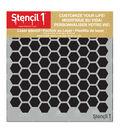 Stencil 1 Hexagon Stencil 5.75\u0027\u0027x6\u0027\u0027