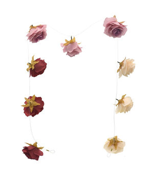 Bloom Room Artisan DIY Rose Floating Garland-Multi
