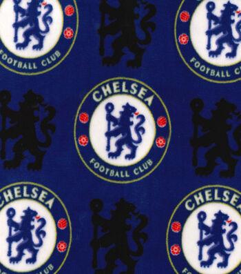 Chelsea Football Club Fleece Fabric 58''