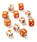 Nada! Matching Dice Game, Ages 7 to Adult, 2-4 Players, Pack of 2