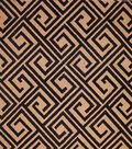 Home Decor 8\u0022x8\u0022 Fabric Swatch-Upholstery Fabric Barrow M8390-5978 Ebony