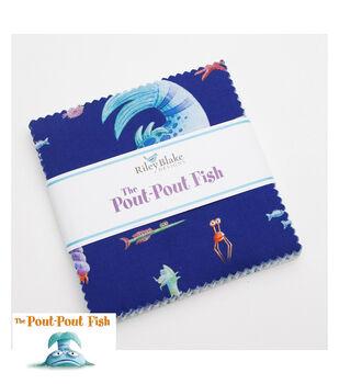 Pre-Cut Fabric-Pout Pout Fish  by Riley Blake
