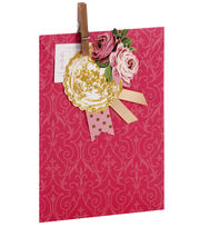 Anna Griffin Pink Tonal Treat Bag 4 Count, , hi-res
