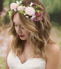 David Tutera Floral Hair Crown