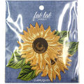 Fab Lab Wearables 2 pk Sunflower Iron-on Appliques