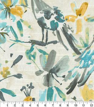 Kelly Ripa Home Multi-Purpose Decor Fabric 54''-Pool Flora Flaunt