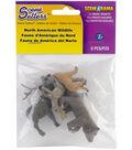 Scene-A-Rama Scene Setters 5 pk North American Wildlife Figurines